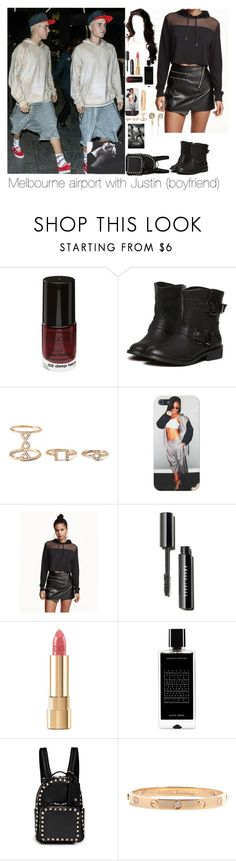 """""""Melbourne airport with Justin"""" by myllenna-malik ❤ liked on Polyvore featuring mode, Forever 21, H&M, Dolce&Gabbana, Agonist, Valentino, Frends, bieber en JustinBieber"""