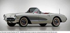 Chevrolet Corvette roadster de 1957.