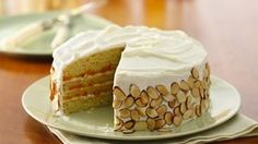 This sweet apricot dessert is topped with decadent cream cheese frosting and is large enough to satisfy a crowd.