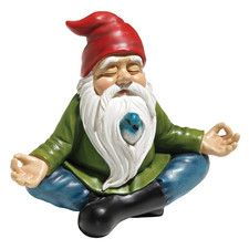 Features:  -Quality designer resin.  -Hand cast.  Product Type: -Statue.  Color: -Multi-colored.  Style: -Country/Cottage.  Material: -Resin/Plastic.  Theme: -Gnome. Dimensions:  Overall Height - Top                                                                                                                                                                                  More