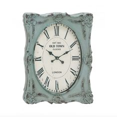 Usher in this Victorian clock today. This clock resides in a stylish and aged picture frame which is only enhanced by the weathered appearance. Perfect for a tr