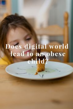 Obesity is one of the biggest monsters in child's life which threatens with health and social problems. Overweight children are being teased by others... #children #obesity #development http://digital-kids.ch/does-digital-world-lead-to-obese-child/