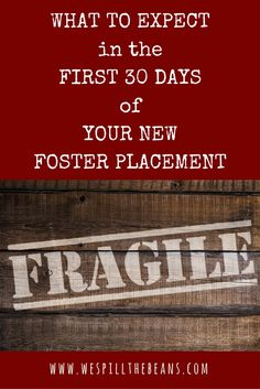 What to Expect in the First 30 Days of Your New Foster Placement  We Spill the Beans | New Foster Placement | Foster Care | Foster Parenting | Foster Mom | Foster Mama | Fostering | Adoption | Foster Care Adoption | Birthparents | Foster Child | Foster Children | Foster Kids