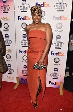 Actress Aisha Hinds attends the 49th NAACP Image Awards Non-Televised Award Show at The Pasadena Civic Auditorium on January 14, 2018 in Pasadena, California. - 49th NAACP Image Awards - Non-Televised Awards Dinner and Ceremony
