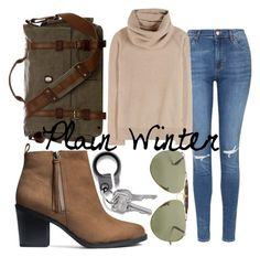 """Plain Winter"" by kimbo20111 ❤ liked on Polyvore featuring Topshop, Loro Piana, H&M and Ray-Ban"