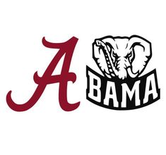 Alabama Roll Tide Logo Cutting Files Silhouette SVG, DXF and EPS vinyl cut Files, for Cameo and Cricut Explore machines Alabama Football, Roll Tide Football, Crimson Tide Football, Alabama College, American Football, College Football, Roll Tide Alabama, Alabama Crimson Tide Logo