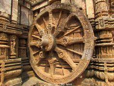 Indian sun temple of Konark