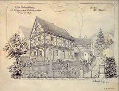 domy przysłupowe, szachulec, konstrukcja szachulcowa, pochodzenie domów przysłupowych, mur pruski, ogrody wiejskie, Łużyce, kultura łużycka, Zielona Metamorfoza
