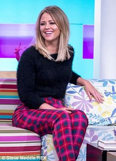 Sunday Brunch: The singer appeared on the Channel 4 TV show looking fabulous