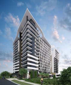Aspect on Archer // Subtropical // Natural light // Boutique // Multi Residential // Architecture  // Toowong // Brisbane // Designed by Ellivo Architects www.ellivo.com