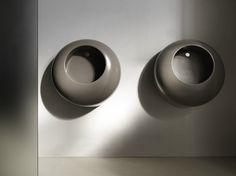 Suspended ceramic Urinal BALL by Ceramica Cielo