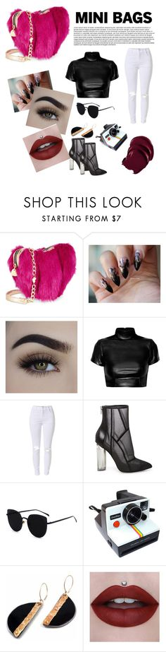 """""""Pop Of Colour"""" by ephoxix ❤ liked on Polyvore featuring Betsey Johnson, Steve Madden and Polaroid"""