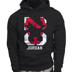 9dc320266ad4 Chicago bulls Michael Air Legend 23 Jordan Mens Black Hoodie