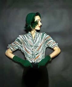 1940s Fashion-Love this look