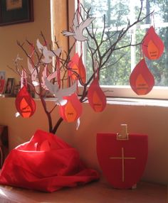 pentecost lesson & craft for sunday school