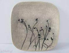 hand-made ceramika mały talerzyk na wszystko