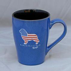 """American Newfie"" Ceramic Mug"
