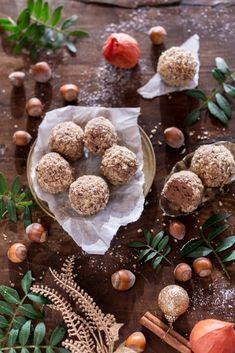 schoko-haselnuss-pralinen-6 Christmas Recipes For Kids, Kids Christmas, Holiday Recipes, Holiday Foods, Popcorn Recipes, Candy Recipes, White Chocolate Popcorn, Xmas Food, Sweet And Salty