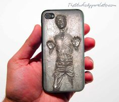 Han Solo in carbonate iPhone case (want!!)