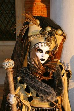I wore this costume to Venice several years ago and it's still one of my favorites.