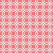 Brownpaperpackages' Geo tile in sunset & white \\ $18 per yard