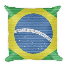 Brasilian Knitted Style Pillow
