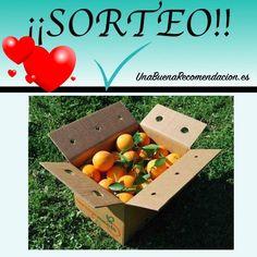 Sorteo San Valentín Caja 10Kg Naranjas Zumo Naranjamanía