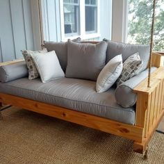 Porch Swing Beds Design Ideas, Pictures, Remodel, and Decor