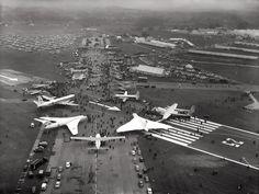 RAF V-bombers 21st Farnborough Air Show, 1960