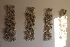 Inspirar Ateliê - Painel de Flores decoração de casa.
