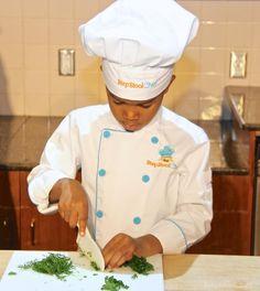 Knife Safety Skills for little chefs