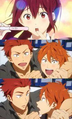 Memes From Anime - ; D # Random # amreading # books # wattpad - I Love Anime, Anime Guys, Manga Anime, Anime Meme, Momotarou Mikoshiba, Splash Free, Free Eternal Summer, Free Iwatobi Swim Club, A Silent Voice