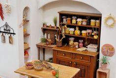 "Postal ""de la cocina"" - postal [casa de muñecas KIMURA tienda online]"