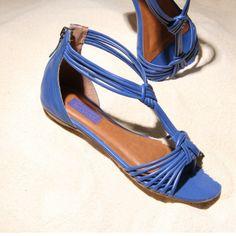 Colorful Shoes! #shoestockverao14 #summer #beach #sand #azul - Ref 15.03.0356