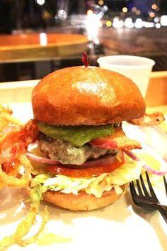 Burgers...Burgers..and..more Burgers. #Burgers #WeHo #Delicious #Hamburgers #Los Angeles #Food #Onionrings #Fries Photo taken by a fan.