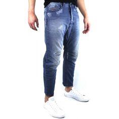 NEW mens DIESEL CHINO Carrot 0672L Stretch TROUSERS TAPER LEG JEANS size  W27 L30