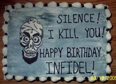 1000 images about cakes jeff dunham on pinterest jeff for Achmed the dead terrorist halloween decoration