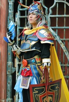 Warrior of light  Final Fantasy - Always love cosplay based on Amano's designs.