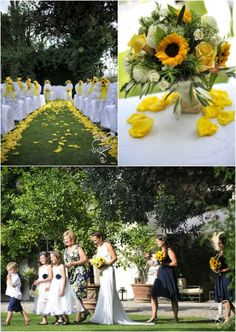 wedding in italy: Sunflowers summer wedding in Tuscany