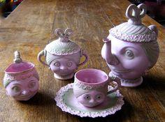 www.danielagnew.com: Very rare Suffragette tea set