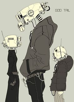Forum Cyberpunk / Forum Cyberpunk - Images aléatoires CyberPunk et chat IRC - Galerie . - Forum Cyberpunk / Forum Cyberpunk – Images aléatoires CyberPunk et chat IRC – Galerie - Arte Robot, Robot Art, Character Concept, Character Art, Concept Art, Animation, Images Aléatoires, Cyberpunk Kunst, Bd Comics