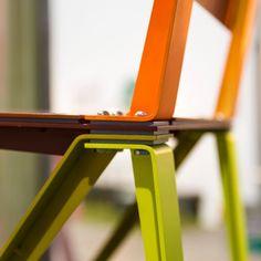 "Chair ""Layers"" by Dimitri Kruithof. #designweek #designweekmilano #designweek2016 #fuorisalone #fuorisalone2016 #fuorisalonemilano #milanogram2016 #mdw2016 #LivingSalone #mdw16 #nikond7200 #igersmilano #nikonitalia #thechairproject #kruithof @venturaprojects"