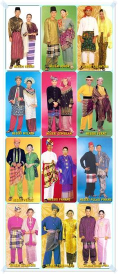 Malay's Traditional Outfit