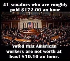 I'd like to vote for them to get paid minimum wage