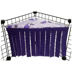 Corner Canopy | PiggyBedSpreads.com – Fleece Cage Bedding Liners for Guinea Pig Cages, C&C Cages, Accessories | Bedding Made Better
