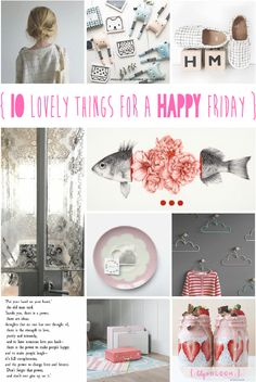 lily&Bloom . hAppy fridAy . { 10 lovely things that caught my eye this week . monochrome simplicity for little Ones . @milkmagazine . @suryasajnani . & . @oohnoo_official . beautiful art . @selvedge . & . @society6 . houses & clouds . @teapeastore . pastel pretty suitcases from @oliverbonas . & . wonderful words from @honestlyhealthy } .