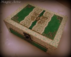 Magic Attic Design tea or jewellery box