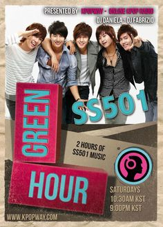 Notice ❤SS501 feature program❤ Every saturday 10:30 am & 9 pm (KST) listen at http://kpopway.com   pic.twitter.com/RxzeCVNlTR