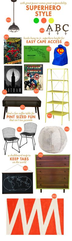 Ispiring ideas for nursery and playroom: by Lay Baby Lay