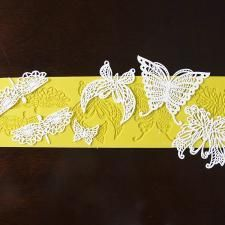 Butterflies & Dragonflies Silicone Lace Mat by Chef Alan Tetreault